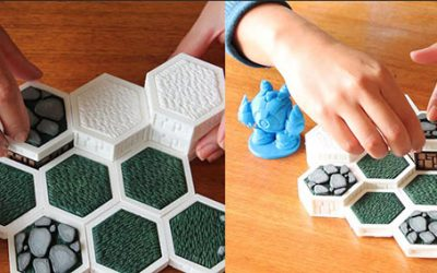 3DPrint.com – Open Board Game is a Framework For 3D Printing Sophisticated, Interactive Board Games