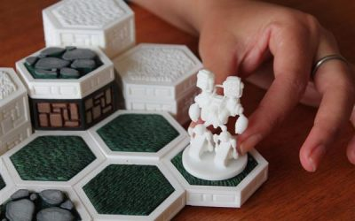 3Ders.org – Open Board Game is an open framework for creating 3D printable board games