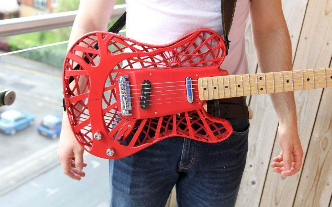 Making Your Own Guitar with a 3D Printer